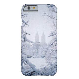 Central Park Framed In Snow and Ice Barely There iPhone 6 Case