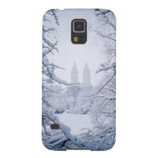Central Park Framed In Snow and Ice Case For Galaxy S5