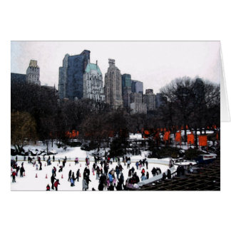 Central Park Gates Card