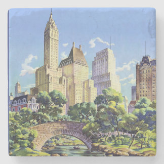 Central Park in New York Stone Coaster