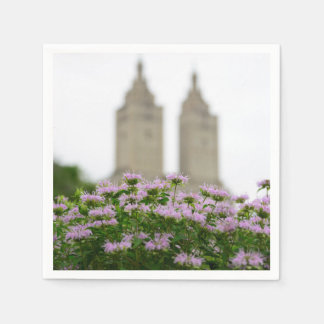 Central Park in Spring (party napkin) Disposable Napkins