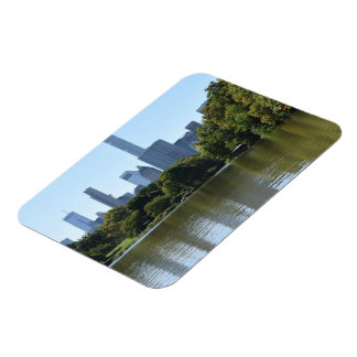 Central Park Lake New York City NYC Architecture Magnet