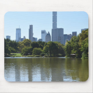Central Park Lake New York City NYC Architecture Mouse Pad