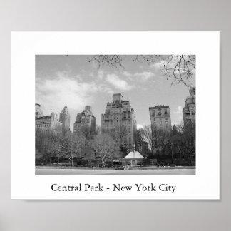 Central Park - New York City Poster