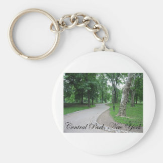 Central Park, New York Keychain