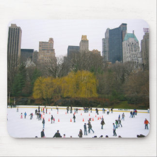Central Park NY NYC Wollman Skating Rink Mousepad
