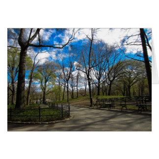 Central Park NYC Card