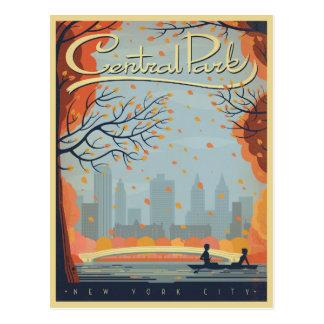 Central Park, NYC - Fall Postcard