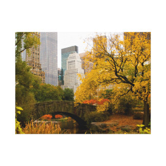Central Park NYC in Autumn Canvas Print
