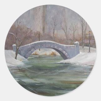 Central Park  NYC Round Sticker
