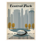 Central Park, NYC - Snow Postcard