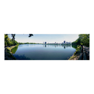 Central Park Panorama Poster