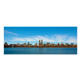 Central Park Panoramic Poster
