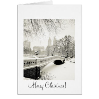 Central Park Snow - Christmas Card