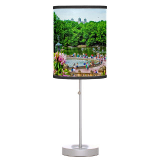 Central Park Spring Lamp  by Madeline Ellis