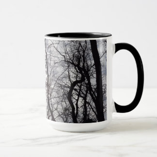 Central Park Trees In Winter Mug