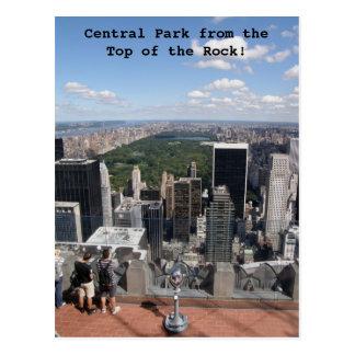 Central Park View Postcard