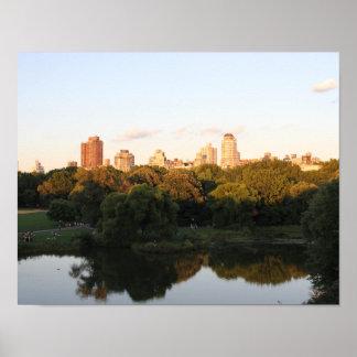 Central Park Walk 1 Poster