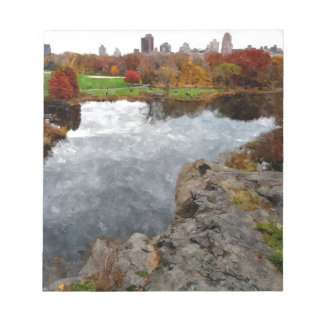 Central Park Watercolor Notepad