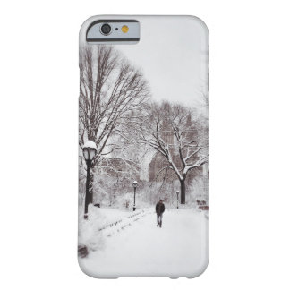 Central Park White Out Barely There iPhone 6 Case