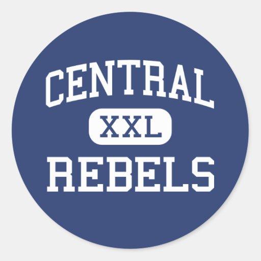 Central - Rebels - High - Park Hills Missouri Stickers