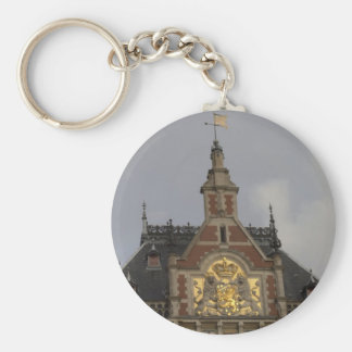 Central Station, Amsterdam Keychain