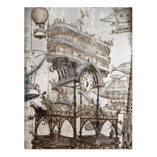 Central Station Notre Dame Postcard