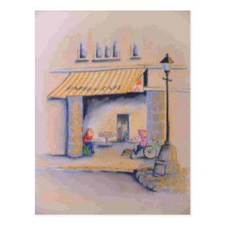 Central Stores Cafe Postcard