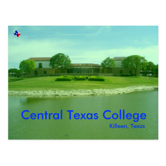 Central Texas College, Killeen Texas Postcard