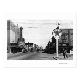 Centralia, WA Street Scene Town View Photograph Postcard