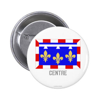 Centre flag with name pinback buttons