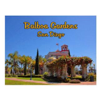 Centre San Diego la Californie d'activité de jardi Cartes Postales