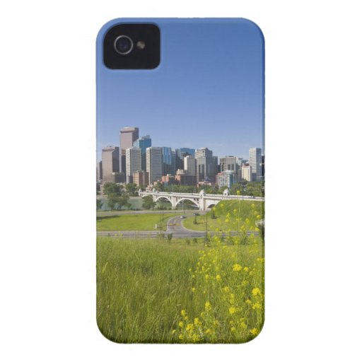 Centre St Bridge and Downtown Calgary, Alberta, 2 Blackberry Cases