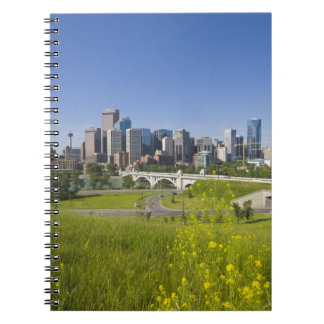 Centre St Bridge and Downtown Calgary, Alberta, 2 Note Book