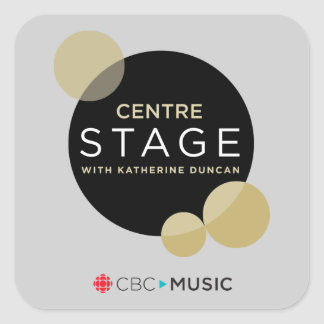 Centre Stage Square Sticker