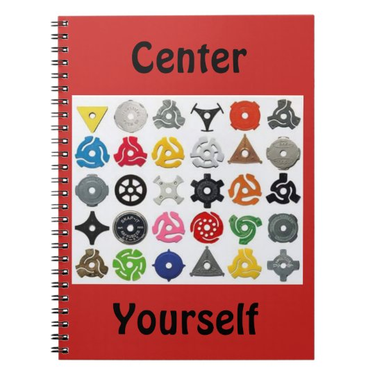 Centre Yourself Spiral Notebooks