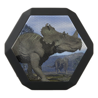 Centrosaurus dinosaurs - 3D render Black Bluetooth Speaker