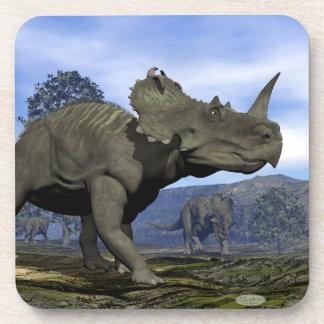 Centrosaurus dinosaurs - 3D render Coaster