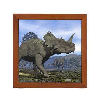 Centrosaurus dinosaurs - 3D render Desk Organizer