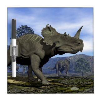 Centrosaurus dinosaurs - 3D render Dry Erase Board