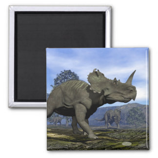 Centrosaurus dinosaurs - 3D render Magnet