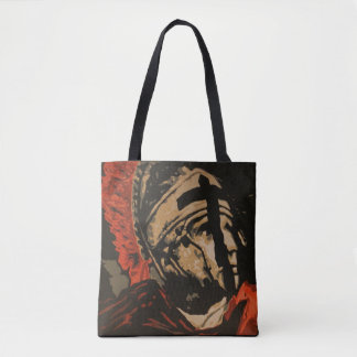"""Centurion"" All-Over-Print Tote Bag"