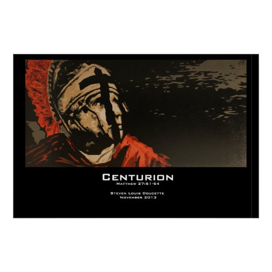 """Centurion"" Poster Print"