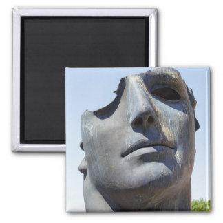 Centurione sculpture square magnet