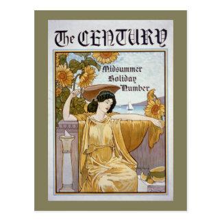 Century Magazine Cover Postcard