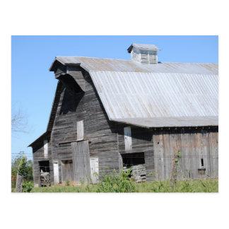 Century Old Barn Postcard