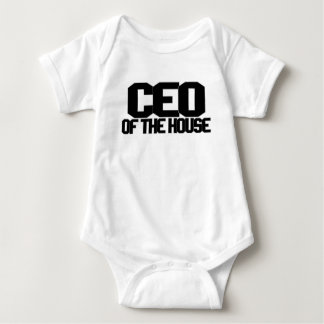 CEO OF THE HOUSE.png Baby Bodysuit