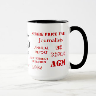 CEO Swear Words! Funny Rude CEO Joke Mug