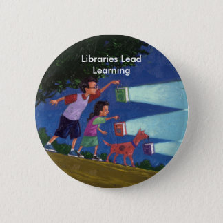 Cepeda medium res, Libraries Lead Learning 2 Inch Round Button