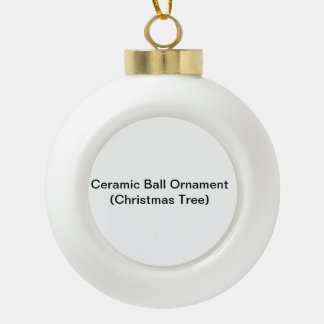 Ceramic Ball Ornament (Christmas Tree)